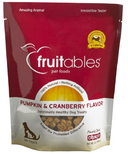Fruitables Crunch Dog Treats Pumpkin & Cranberry