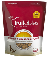 Fruitables Crunch Dog Treats Pumpkin & Cranberry