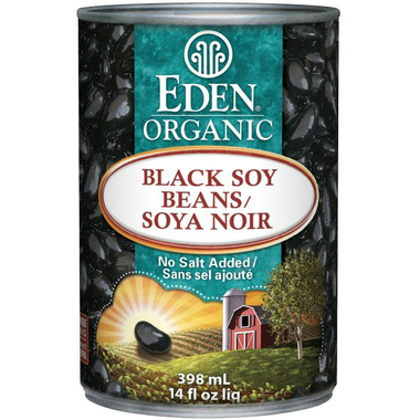 Eden Organic Canned Black Soy Beans