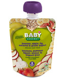 Baby Gourmet Banana Apple Fig Oatmeal and Greek Yogurt Baby Food