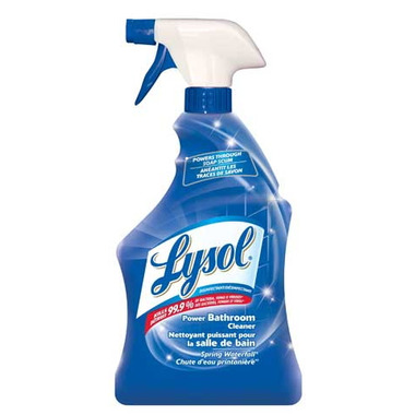 buy lysol power bathroom cleaner at free shipping 35 in canada