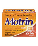 Motrin Tablets Extra Strength