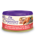 Wellness Signature Selects Flaked Skipjack Tuna & Salmon Wet CASE OF 24