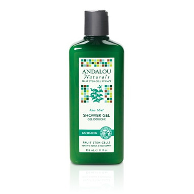 Andalou Naturals Aloe Mint Shower Gel