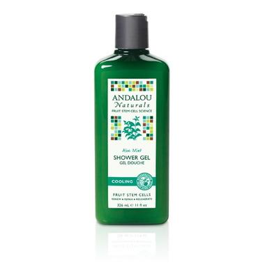 Andalou Naturals Aloe Mint Shower Gel