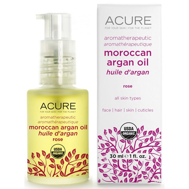 Acure Aromatherapeutic Argan Oil Rose
