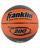 Franklin Sports Grip Rite 200 Mini Rubber Basketball Tan