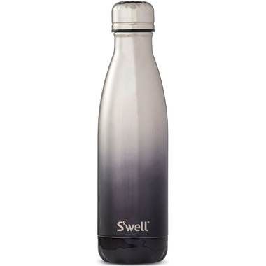 S\'well Ombre Metallic Collection Stainless Steel Water Bottle White Gold
