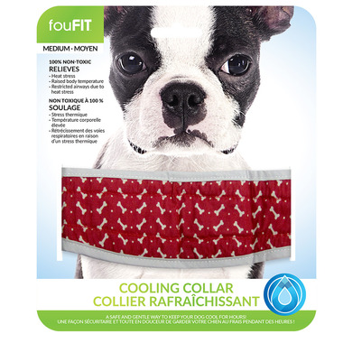FouFit Cooling Collar Medium Blue
