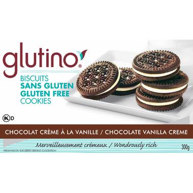 Glutino Gluten Free Chocolate Vanilla Creme Cookies