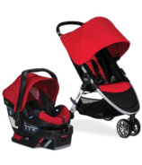 Britax B-Agile 3 & B-Safe 35 Travel System Red