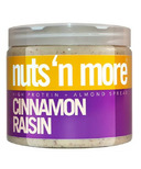 Nuts n More Cinnamon Raisin Almond Butter High Protein Spread