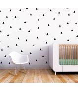 Trendy Peas Wall Decals Little Peaks Black
