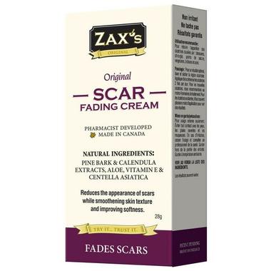 Zax\'s Original Scar Fading Cream
