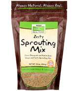 NOW Real Food Zesty Sprouting Mix