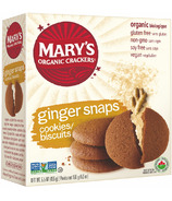 Mary's Organic Crackers Ginger Snaps