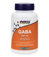 NOW Foods B-6 plus 500 mg GABA