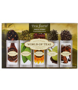 Tea Forte Single Steeps World of Teas Collection