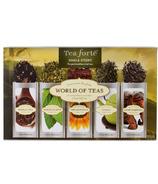 Tea Forte Single Steeps World of Teas Collection