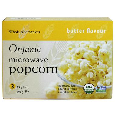 Whole Alternatives Organic Microwave Popcorn