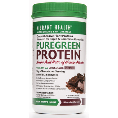 Buy Vibrant Health Pure Green Vegan Protein Chocolate at ...