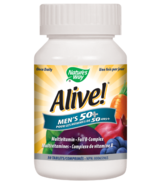 Nature's Way Alive! Men's 50+ MultiVitamin & Full B Complex