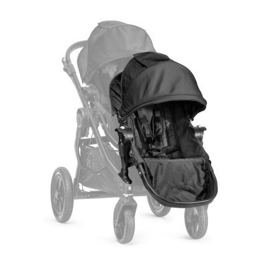 Baby Jogger City Select Second Seat Black With Black Frame