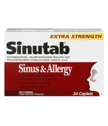 Sinutab Sinus & Allergy Extra Strength