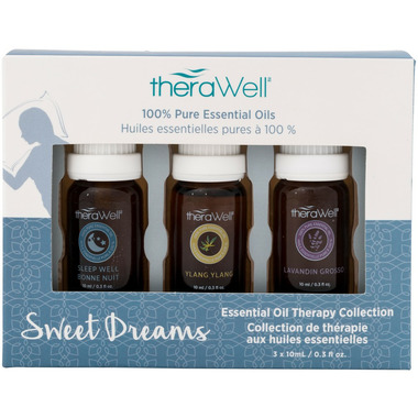 Therawell Essential Oil Blend 3 Pack Sweet Dreams