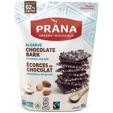 PRANA Algarve Organic Chocolate Bark