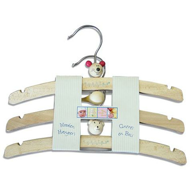 Kushies Wooden Hangers