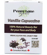 Penny Lane Organics 100% Natural Beauty Bar Vanilla Cappuccino