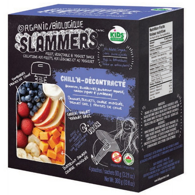Organic Slammers Chill\'N Fruit & Vegetable Snack