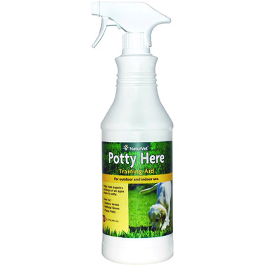 Naturvet Potty Here Outdoor & Indoor Training Aid Spray