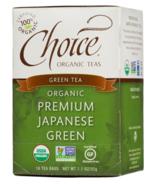 Choice Organic Teas Premium Japanese Green Tea