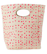 Fluf Hearts Organic Lunch Bag