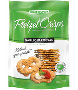 Pretzel Crisps Garlic Parmesan Deli Style