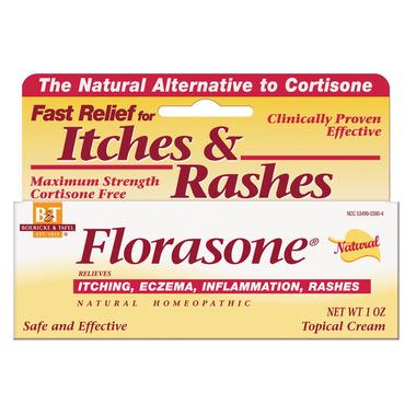 Boericke & Tafel Florasone Cortisone-Free Homeopathic Cream