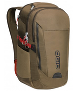 OGIO Ascent Pack in Khaki/Red