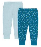 Skip Hop ABC-123 Baby Pants 2 Piece Set Blue