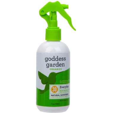 Goddess Garden Everyday Natural Trigger Sunscreen