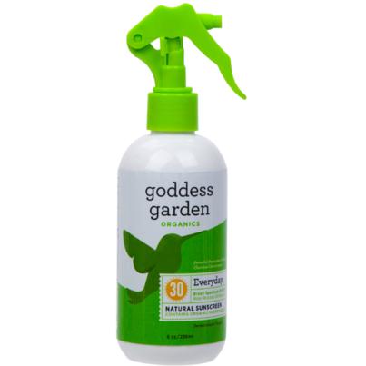 Goddess Garden Everyday Natural Trigger Sunscreen