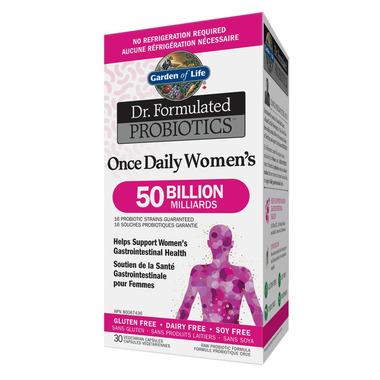 Buy garden of life dr formulated probiotics once daily - Garden of life once daily women s probiotic ...