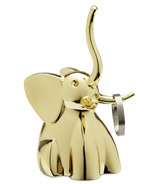 Umbra Zoola Elephant Ring Holder Brass