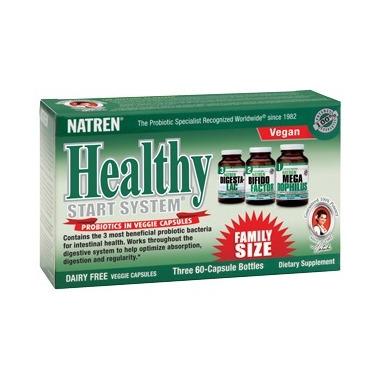 Natren Healthy Start System Dairy Free Capsules