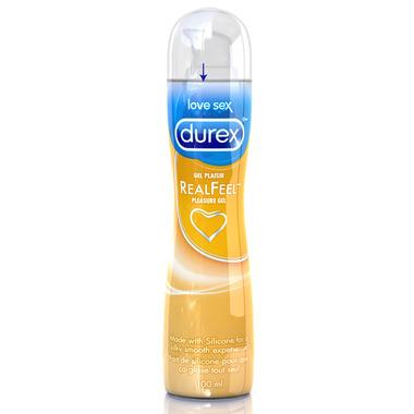Durex Real Feel Pleasure Gel & Lubricant Silicone