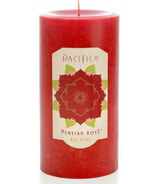 Pacifica Pillar Candle Persian Rose