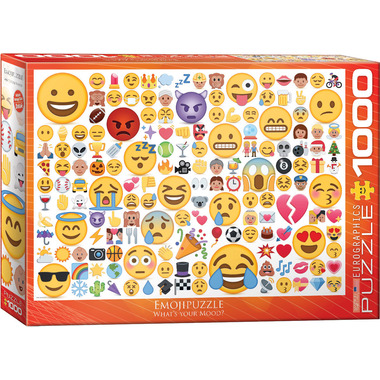 Eurographics EmojiPuzzle What\'s your Mood? Puzzle