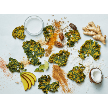 Healthy Crunch Kale Chips Bollywood Blast