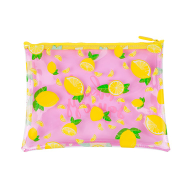 Sunnylife See Thru Pouch Lemon